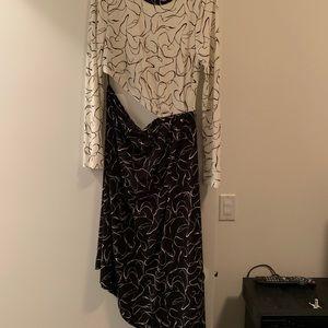 Brand new Topshop cut out dress